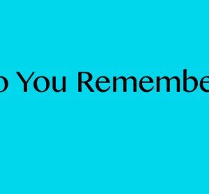 Do You Remember? – Generation Justice