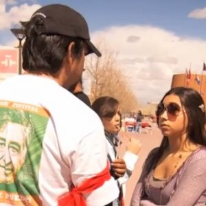 Lucia Martinez Interviews Michael Casaus at the Cesar Chavez March and Celebration – Generation Justice