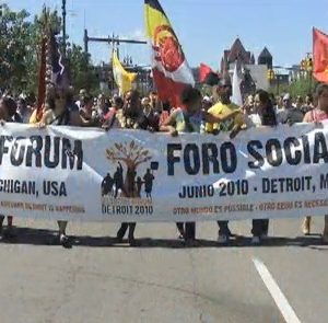 2010 People's Freedom Caravan through Louisville, Chicago, and to Detroit for the 2010 USSF  – Generation Justice
