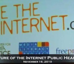 FCC Commissioner Discusses Net Neutrality – Generation Justice