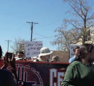 Interview with Youth Activist Crystal Zamora – Cesar Chavez March – Generation Justice