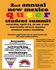 4.15.12 – NM Queer Student Summit [Radio] – Generation Justice