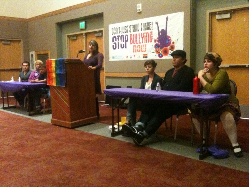 11.11.12 OUT Loud: Bullying Prevention Community Forum pt. 1 [Radio] – Generation Justice