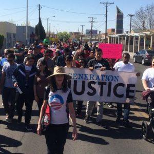 3.30.14 Cesar Chavez Day Interviews [Radio] – Generation Justice
