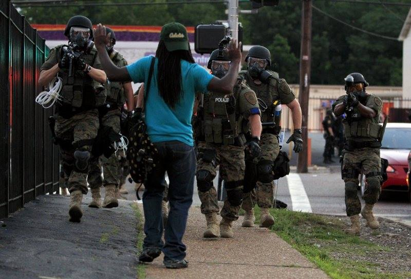 """""""Hands Up! Don't Shoot!"""": Intersections of Military and Police [Blog] – Generation Justice"""