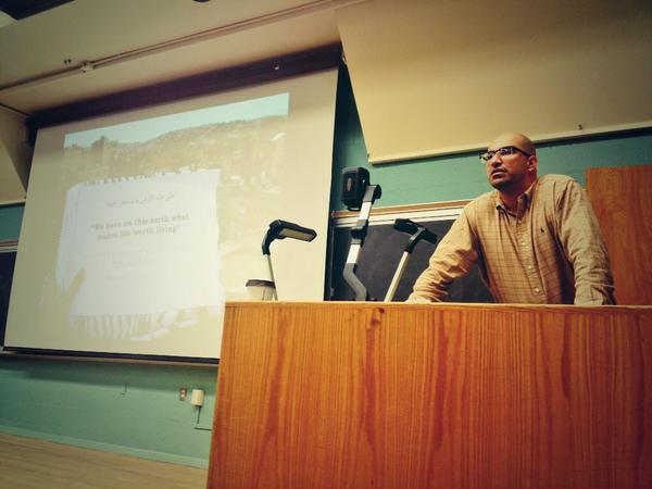 """Steve Salaita Talk at UNM: """"Inter/Nationalism from the New World to the Holy Land: Encountering Palestine in American Indian Studies"""" [Audio] – Generation Justice"""