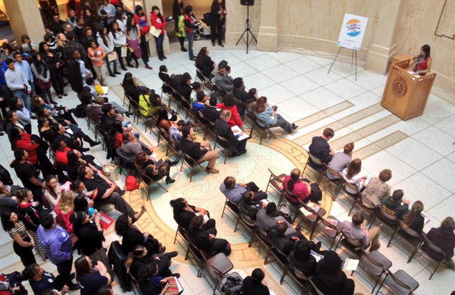 1.25.15 Youth Voice at the Legislature [Radio] – Generation Justice