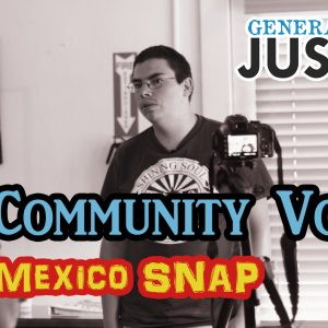 Community Voices on the SNAP Work Requirements – Generation Justice