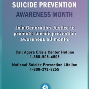 9.15.19 – Suicide Prevention Awareness & GJ Travels