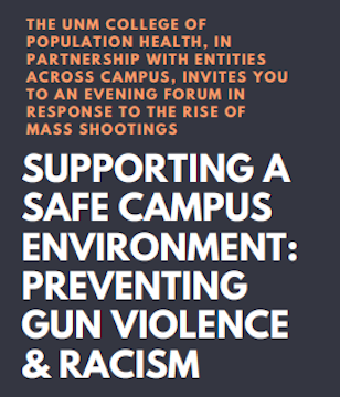 1.19.20 – Supporting a Safe Campus Environment: Preventing Gun Violence and Racism